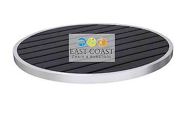 """CLOSEOUT: New 36"""" Round Trendy Shipyard Collection Outdoor Restaurant Table Top"""