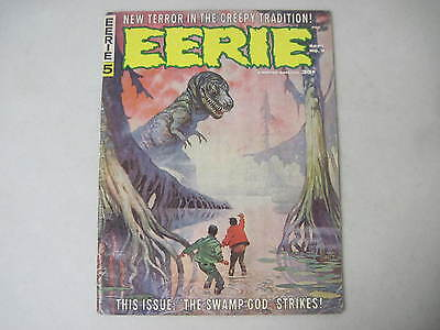 Eerie #5 Warren Magazine 1966 Frank Frazetta Cover Reed Crandall Al Williamson
