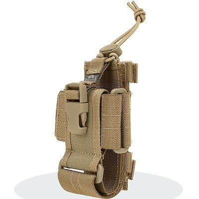 Maxpedition MX102K CP-L Cell Phone And Walkie Talkie Holster Khaki Large Size