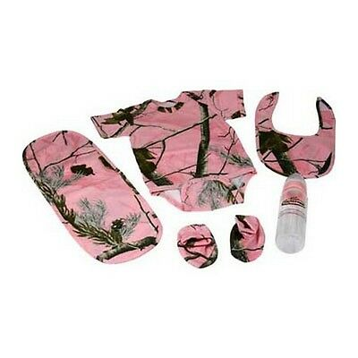Rivers Edge 1543 Reltree APG Pink Camo 5 Piece Baby Combo