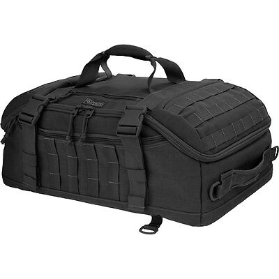 Maxpedition 0613B PALS Soft Nylon Black Fliegerduffel Adventure Bag 22 X 14 X 9""