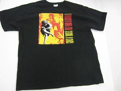 Vintage 1990's Guns N' Roses USE YOUR ILLUSION T-shirt Size XL Extra Large hanes