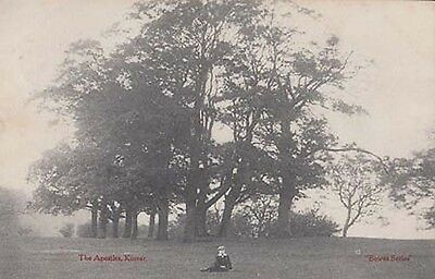 Kinver The Well Lady Staffs Staffordshire Holy Austins Rock Old Antique Postcard