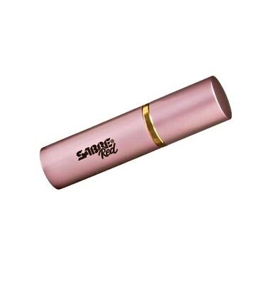 Sabre LS-22-US Lipstick Pepper Spray Concealable Unit Sabre Pink 3/4 Oz Weight