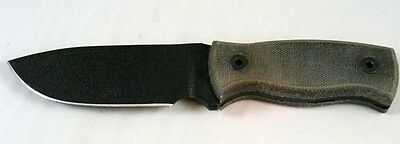 "Ontario Company 9464BM Ranger Falcon 4.25"" Plain Edge Blade Fixed Knife Sheath"