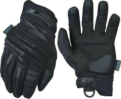 Mechanix Wear MP2-55-009 Men's Covert Black M-Pact 2 Tactical Gloves - Medium