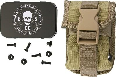 ESEE 52-POUCH-K Accessory Pouch For RC5/6 Hard Sheath Khaki