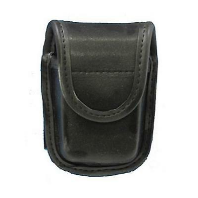 Bianchi 22114 AccuMold Elite Plain Leather Pager or Glove Pouch With Hidden Snap