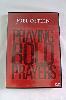 "JOEL OSTEEN ""Praying Bold Prayers"" Lakewood Church 2-DVD Set EUC"
