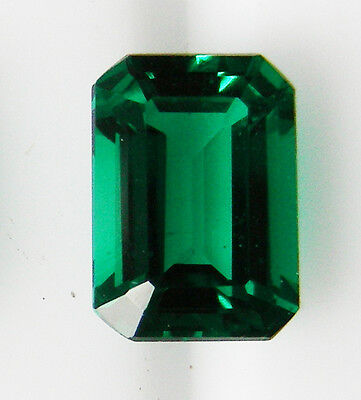 0.86ct!! NATURAL COLOMBIAN EMERALD -EXPERTLY FACETED +CERTIFICATE INCLUDED