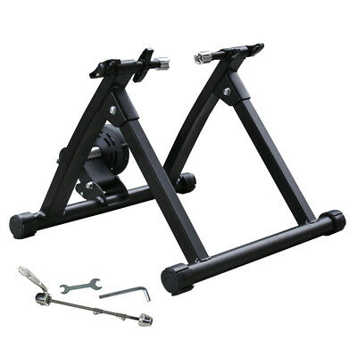 Portable Folding Exercise Magnetic Bike Bicycle Trainer Stand Fitness Workout