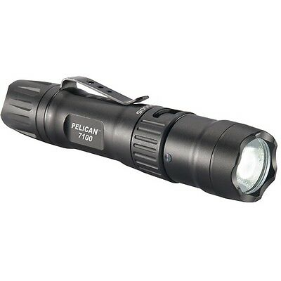 Pelican 071000-0000-110 7100 LED Li-Ion Rechargeable Flashlight 700 Lumen