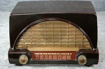 Old Philco Bakelite Tube Radio ~ L@@k!