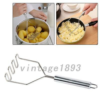 Kitchen Tools Vegetable Gadgets Potato Masher Pressure Mashed Accessories New
