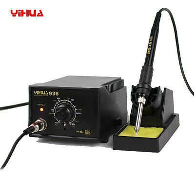 YiHua 936 110V SMD ESD Adjustable Soldering Station WeldingSolder Tool Kit Set