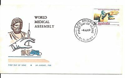 1968 World Medical Assembly First Day of Issue 5c stamp