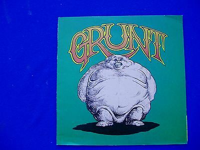 Grunt #1, underground comic 1972. Tom Veitch / Greg Irons. VFN. Rare.