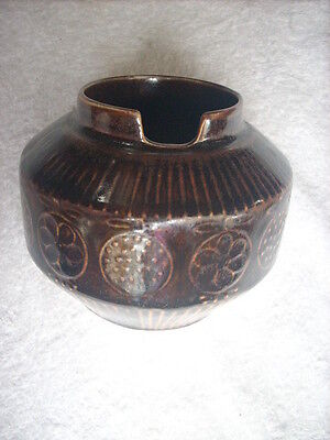 Arabia Slotted Bowl