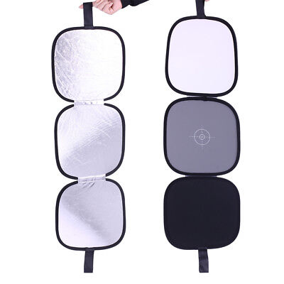 """Neewer 12"""" Collapsible Hand Hold Tri-Fold Reflector Disc for Studio"""