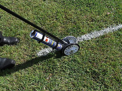 PAINT LINE MARKER.  Football pitch Marking. Tennis. Rugby. Factory. Playground.