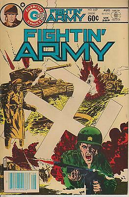 Fightin' Army    No  159    August 1982     Charlton Comics Group