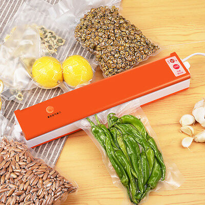 220V Food Saver Automatic Electric Vacuum Sealer Fresh Seal Machine Packing Tool