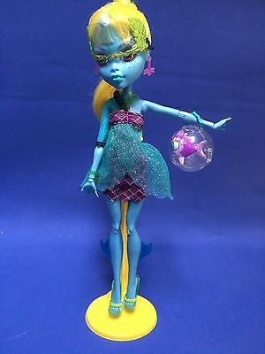 Monster High Lagoona Blue Doll & Display Stand