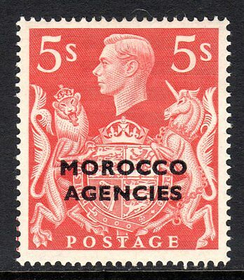 Morocco Agencies KGV1  1949  5s Red SG93 M/Mint