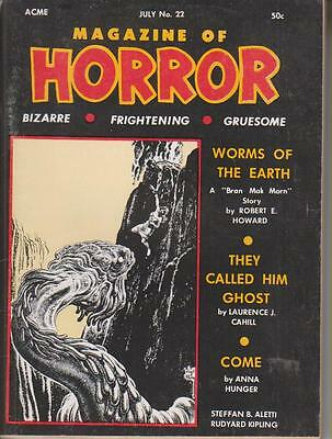 Magazine Of Horror     No  22  July 1968