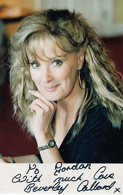 Beverley Callard Coronation Street Hand Signed Photo