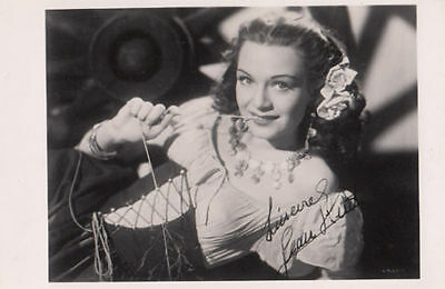 Jean Kent in Dutch Fashion Outfit Vintage Hollywood Photo