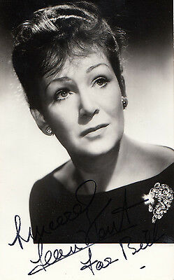 Jean Kent Hand Signed Photo