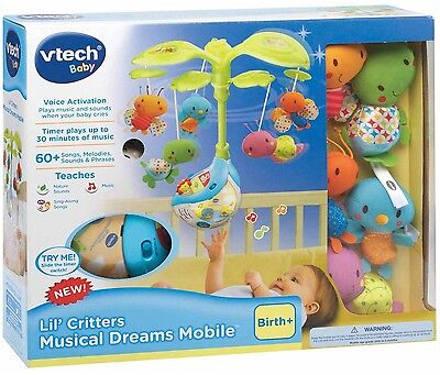Vtech Baby Line Lil' Critters Musical Dreams Mobile