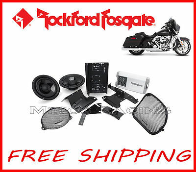 Rockford Fosgate Harley Davidson Touring Amplifier Kit 2014, 2015, 2016, 2017