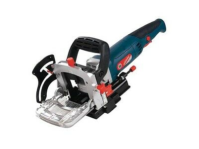 Silverline 900w 240v with Fine Adjustment Biscuit Jointer 0-135 degrees Sizes 0,