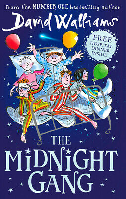 The midnight gang by David Walliams (Hardback)