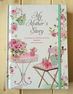 New- Mothers Memories Journal Mum To Child Baby Keepsake Record Book Mothers Day