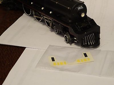 Hornby Dublo   C P engane CAB   and boiler  TRANSFERS replacement