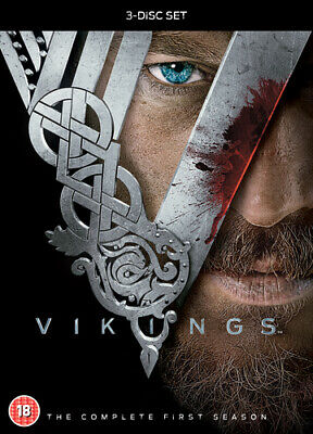 Vikings: The Complete First Season DVD (2014) Travis Fimmel cert 18 3 discs
