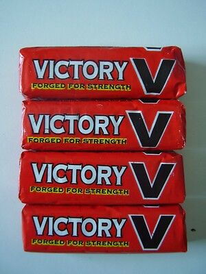 4 x packets of VICTORY V LOZENGES