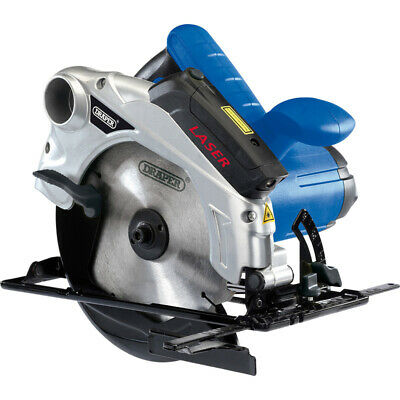 Draper 185Mm Circular Saw With Laser Guide 1300W 230V 2 Year Warranty 23034