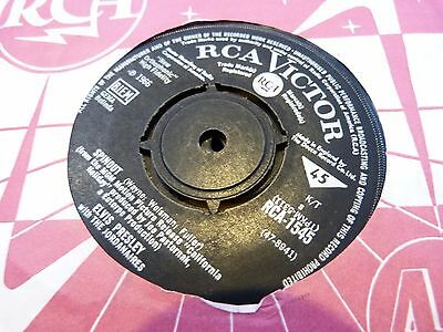 """Elvis Presley :spinout / All That I Am  : Rca 1545:  7"""" 45: Excellent"""