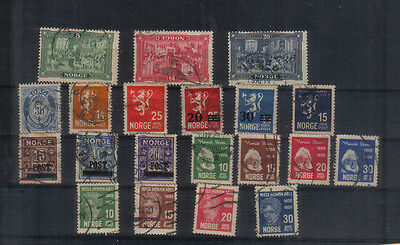 Norway 1914-29 Used collection