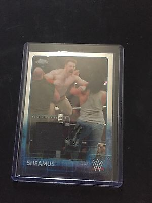 WWE Topps 2015 Chrome Seamus Shirt Relic