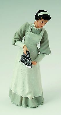 1/12th SCALE DOLLS HOUSE MAID WITH IRON FIGURE