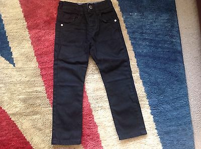 Childs Navy Blue Trousers By Next. Age 4 Years.