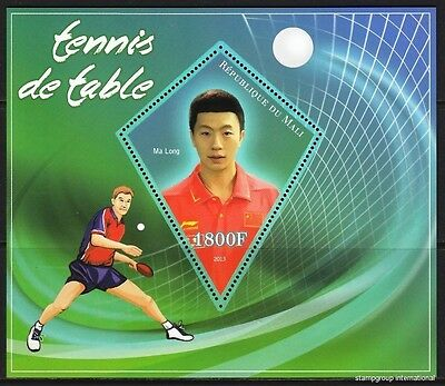 MALI 2013-37 Chinese table tennis players Tennis de table MNH