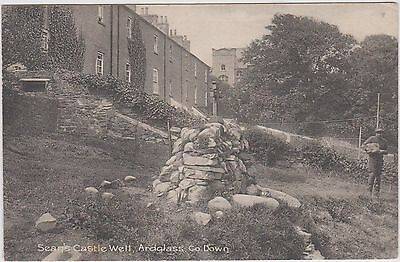 Ardglass Co. Down Ireland Irish. Sean's Castle Well. Francis Joseph Bigger 1911.