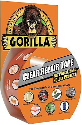 Gorilla Tape Repair Tape w/ Gloss Finish Fix, Patch, Hold, Seal & Protect - 8.2m