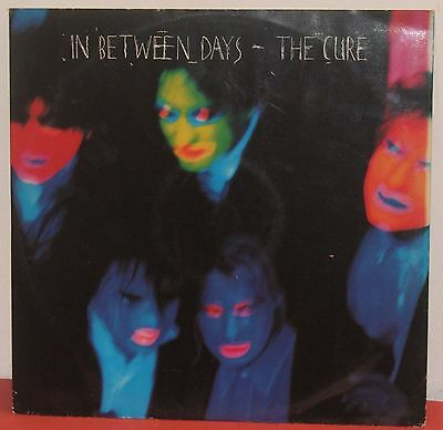 "THE CURE : IN BETWEEN DAYS / 12"" Inch Vinyl Single / FICTION RECORDS 1985 / VG"
